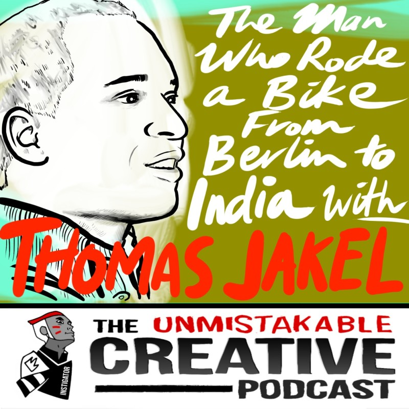 The Man Who Rode a Bike from Berlin To India with Thomas Jakel
