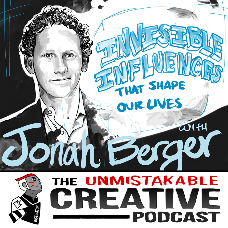 The Invisible Influences that Shape our Lives with Jonah Berger
