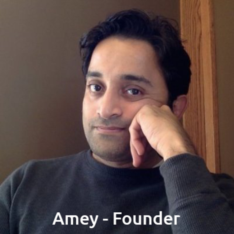 Amey Laud - Founder and CEO of the Learn & Earn app
