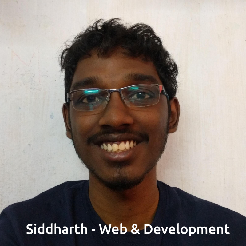 Siddharth - Web & Development for the Learn & Earn App