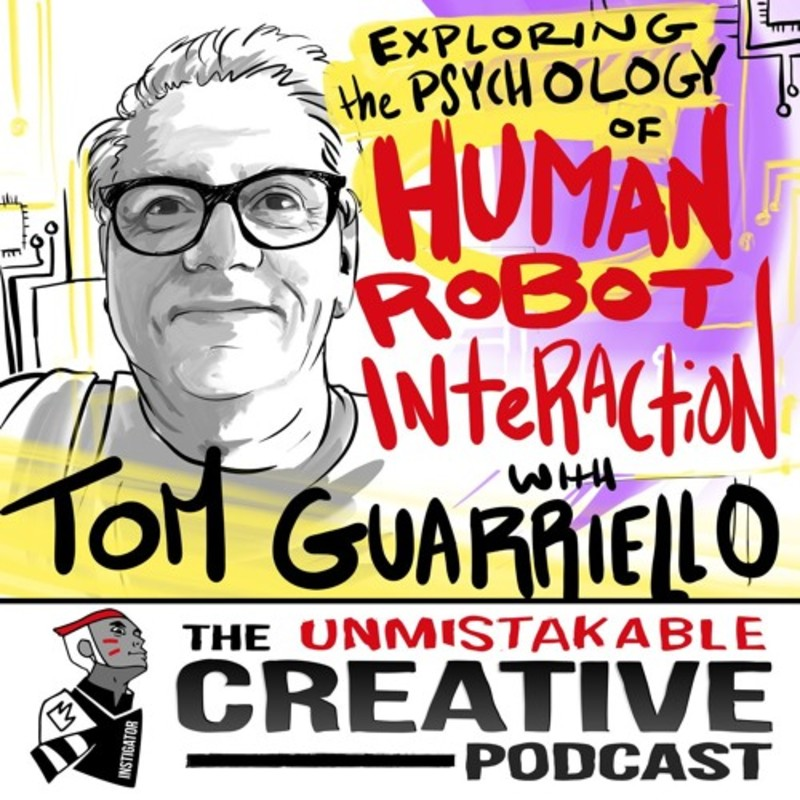 Exploring the Psychology of Human Robot Interaction with Tom Guarriello