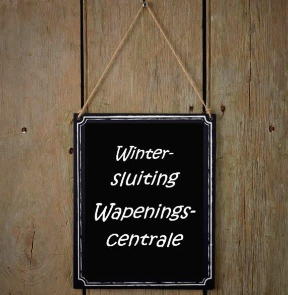 Wintersluiting Wapeningscentrale