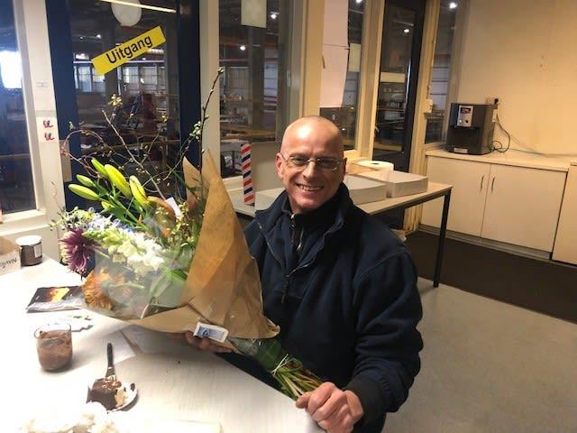 René van 't Verlaat 12,5 jaar in dienst!