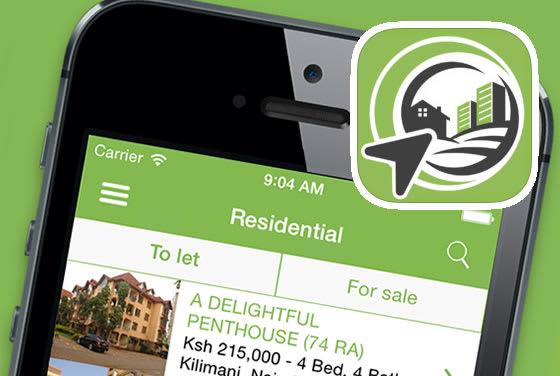 Screenshot of the Anza iPhone app