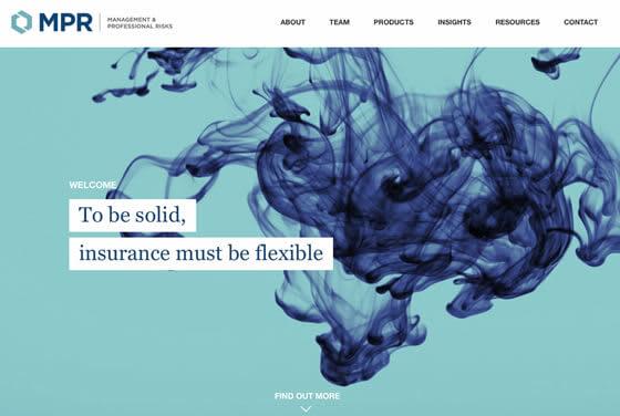 Screenshot of the MPR website
