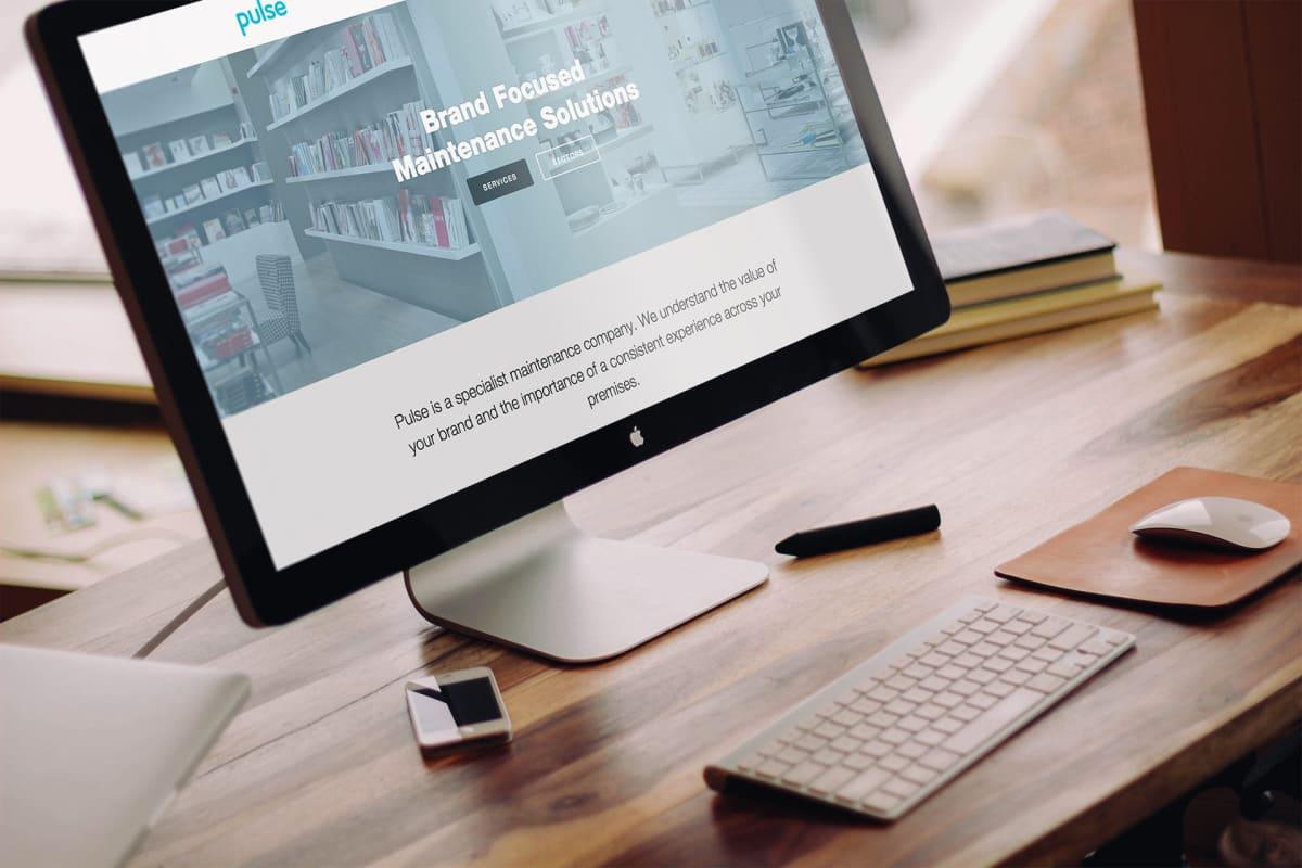 Pulse website on a desktop computer