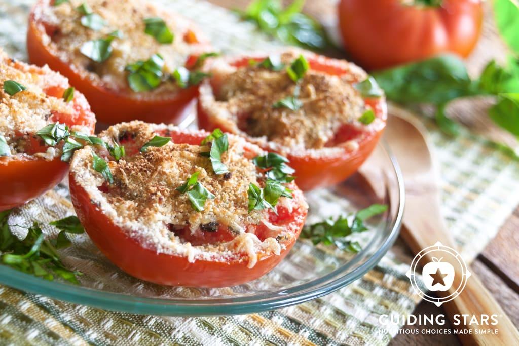 Broiled Tomatoes Parmesan