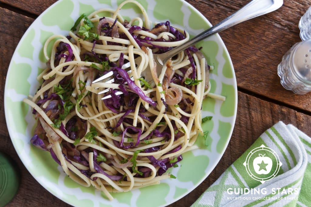 Spaghetti Cabbage Stir Fry