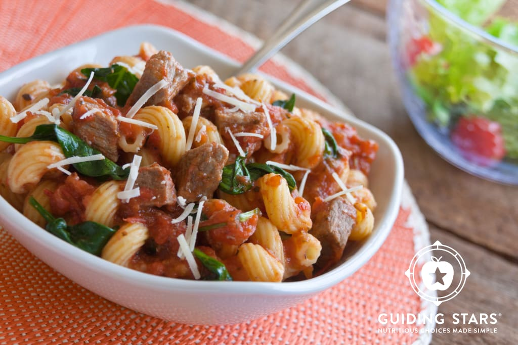 Beef and Tomato Sauce with Pasta