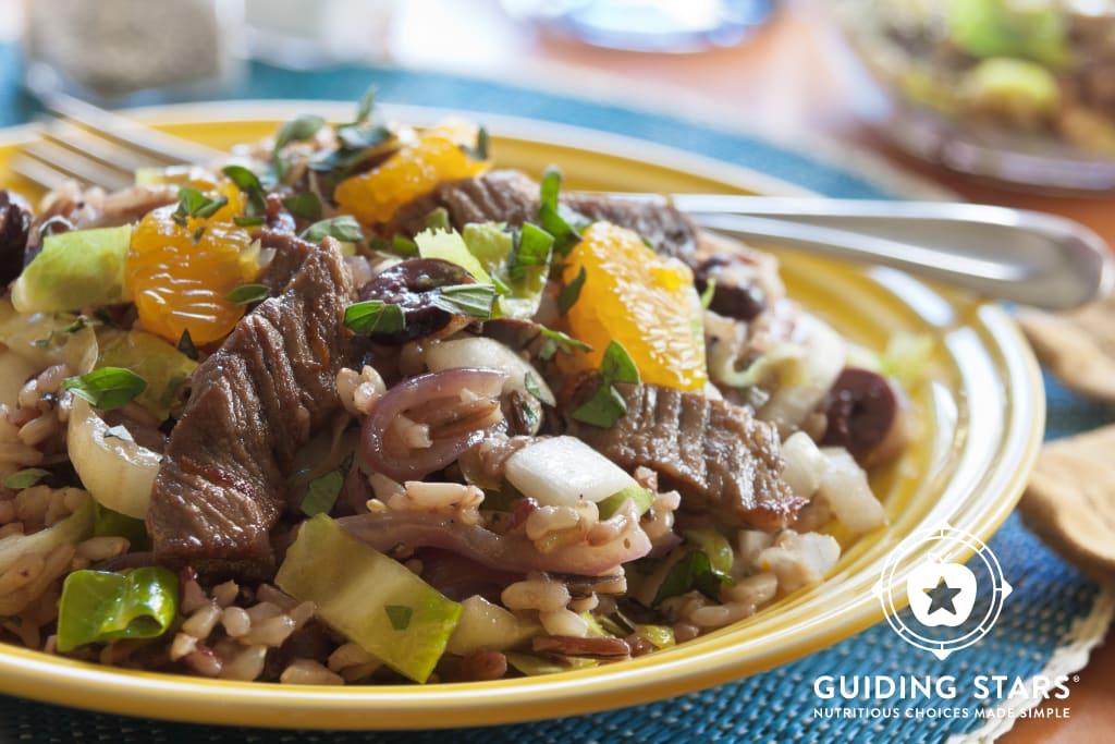 Beef, Wild Rice & Endive Salad