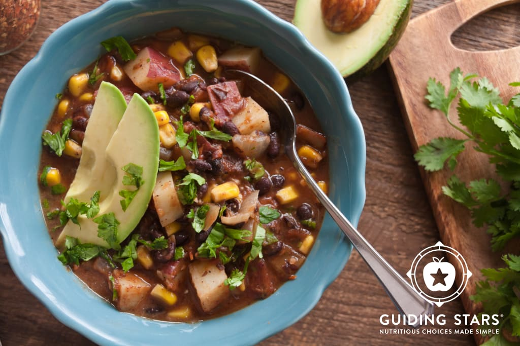 Quick Black Bean Mexican Soup