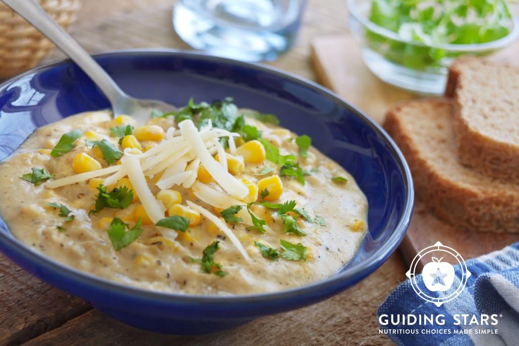 10 Minute Corn Chowder
