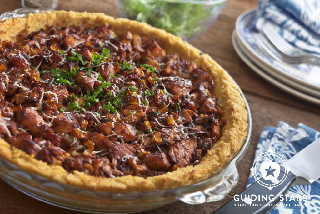 Chicken & Corn Tamale Pie