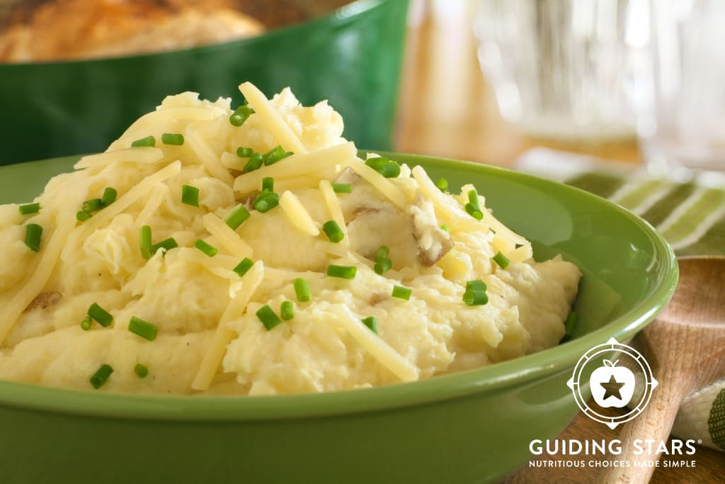 Vermont Cheddar Mashed Potatoes