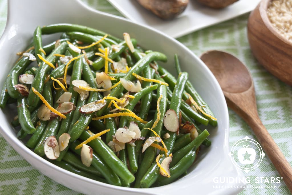 Orange & Toasted Almonds Green Beans