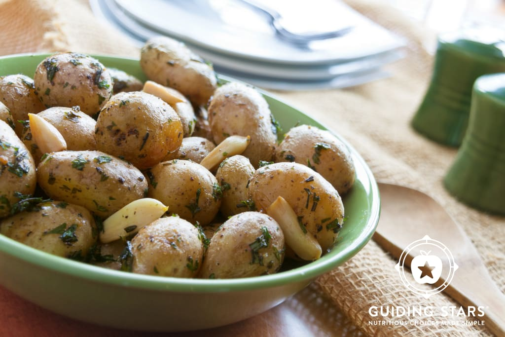 Roasted Potatoes with Garlic and Herbs