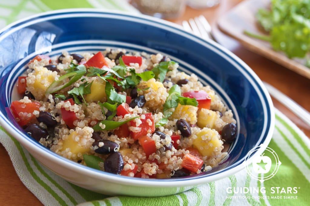 Quinoa, Mango & Black Bean Salad