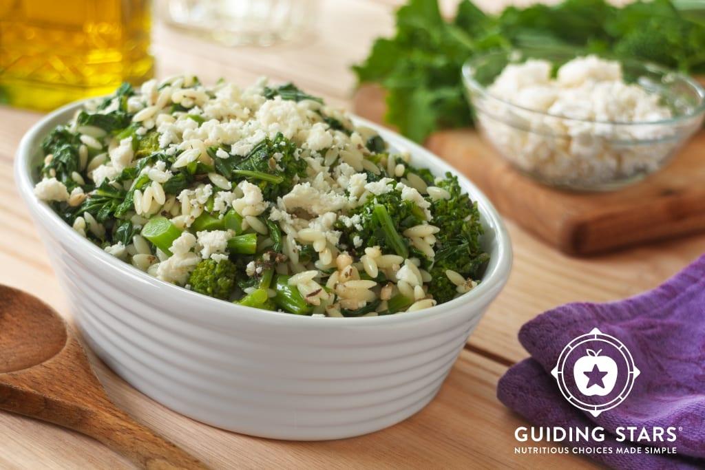 Broccoli Rabe & Orzo Salad