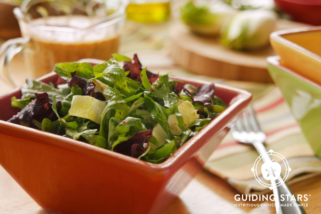 Mixed Greens with Mustard Dressing
