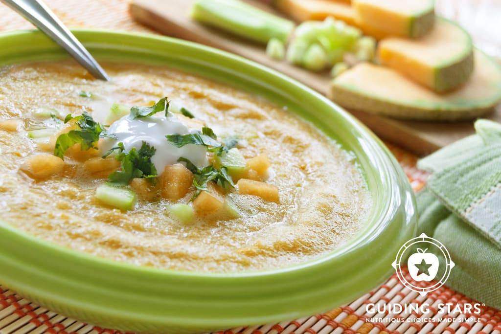 Chilled Melon Soup