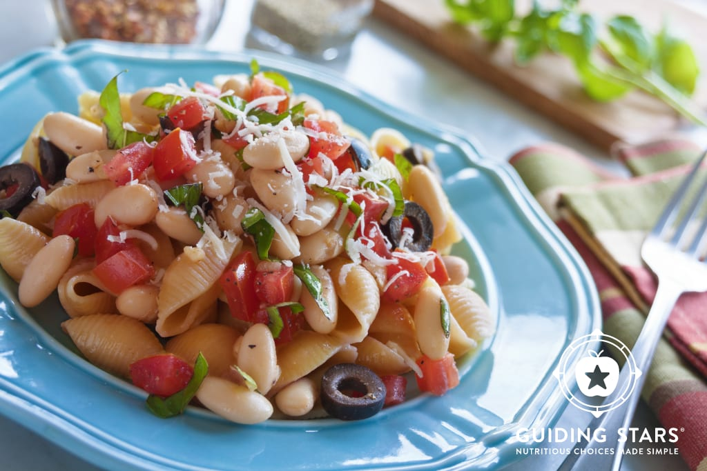 White Bean & Olive Pomodoro Pasta