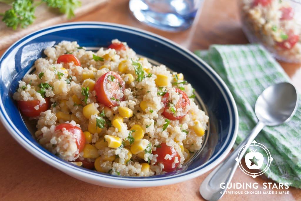 Corn & Tomato Quinoa Salad
