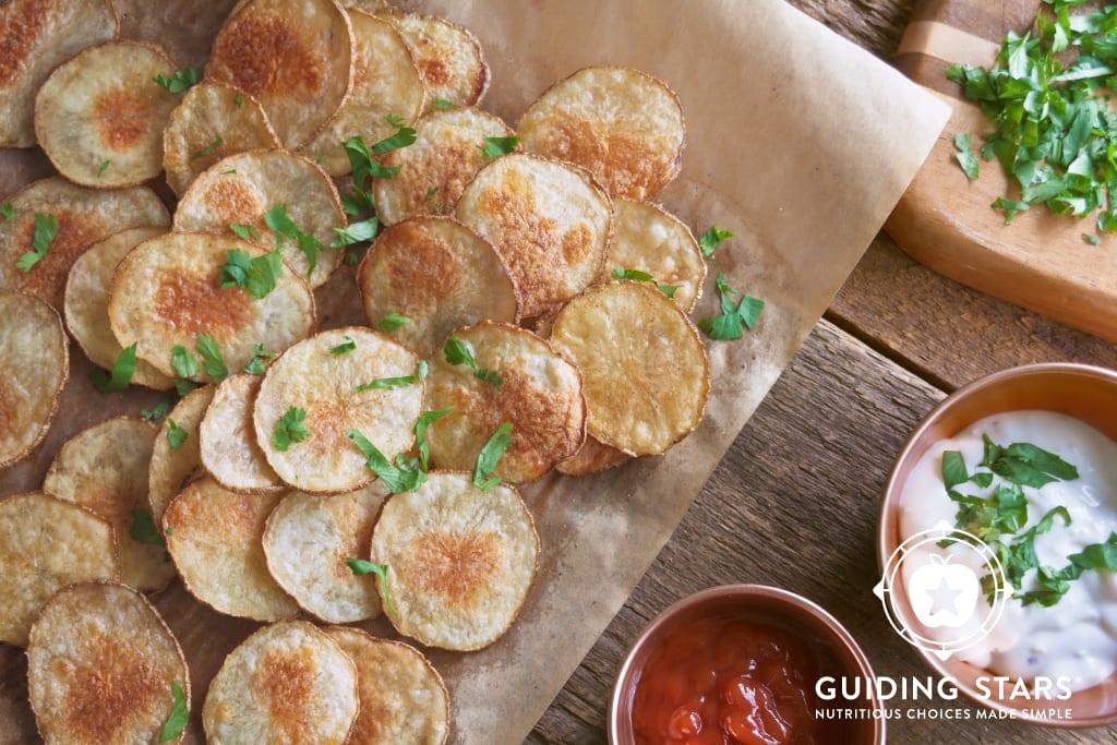 Baked Seasoned Potato Chips