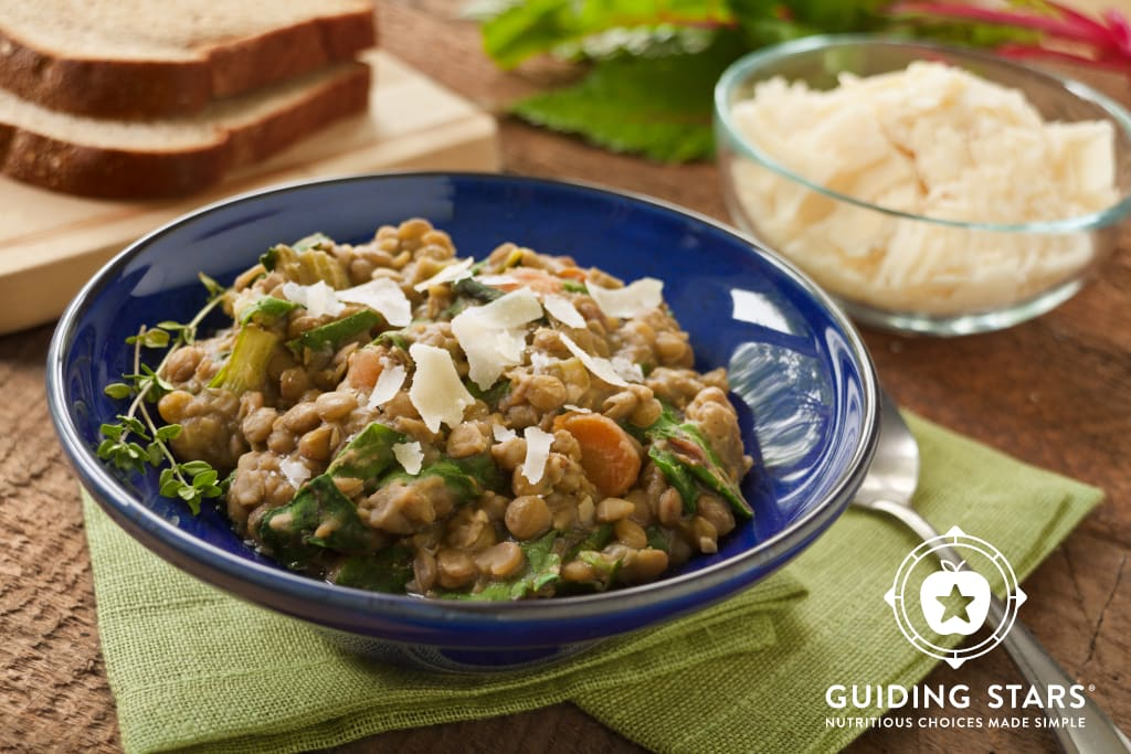 French Lentils with Chard