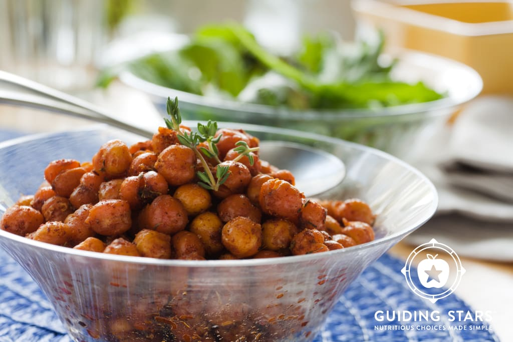 Roasted Curried Chickpeas with Rosemary & Thyme