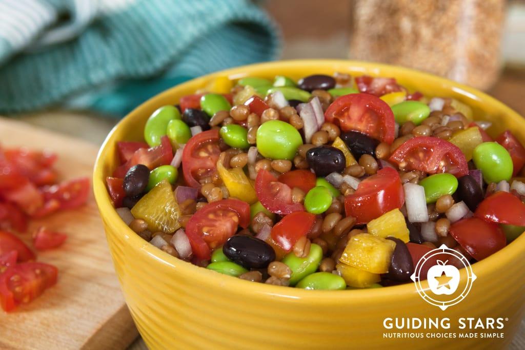 Edamame Wheatberry Salad