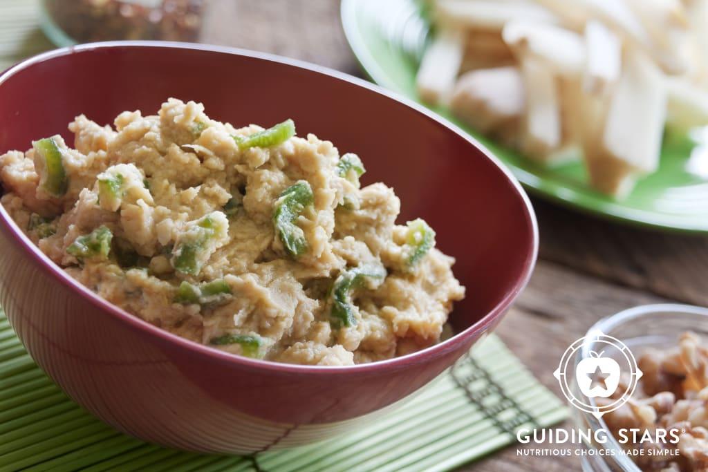 Roasted Jalapeno & Lime Hummus