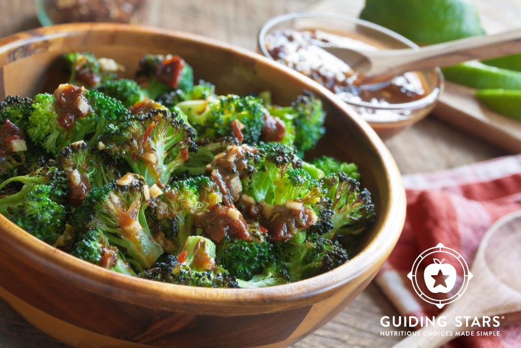 Roasted Chipotle-Lime Broccoli