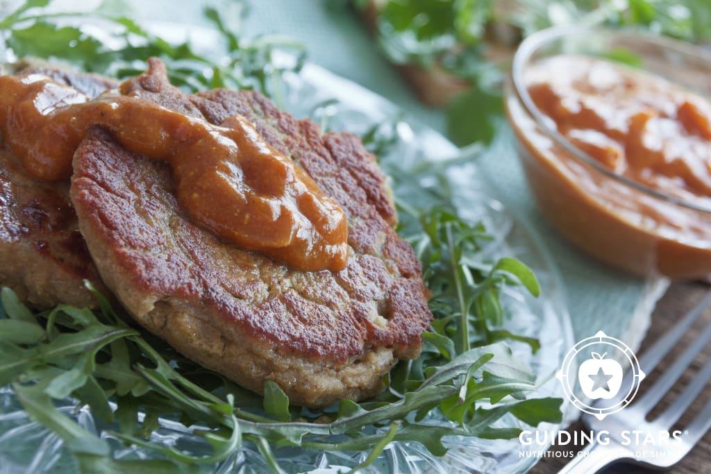 Lentil Cakes with Masala Sauce