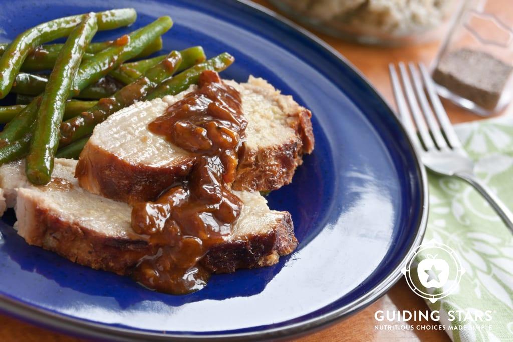 Slow Cooker Plum-Glazed Pork