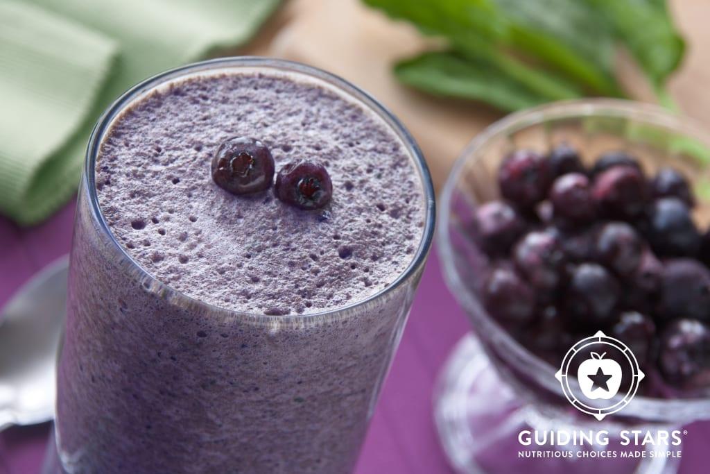 Blueberry Cocoa Smoothie