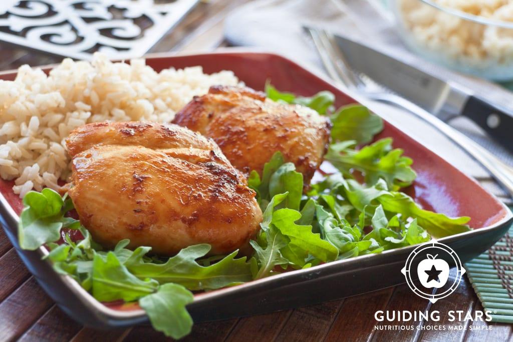 Miso-Ginger Chicken Thighs