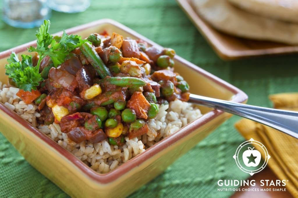Curried Veggie Rice Bowl