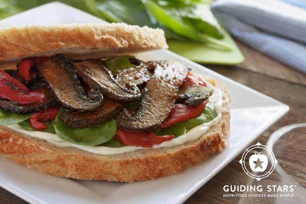 Sourdough Portobello Sandwich