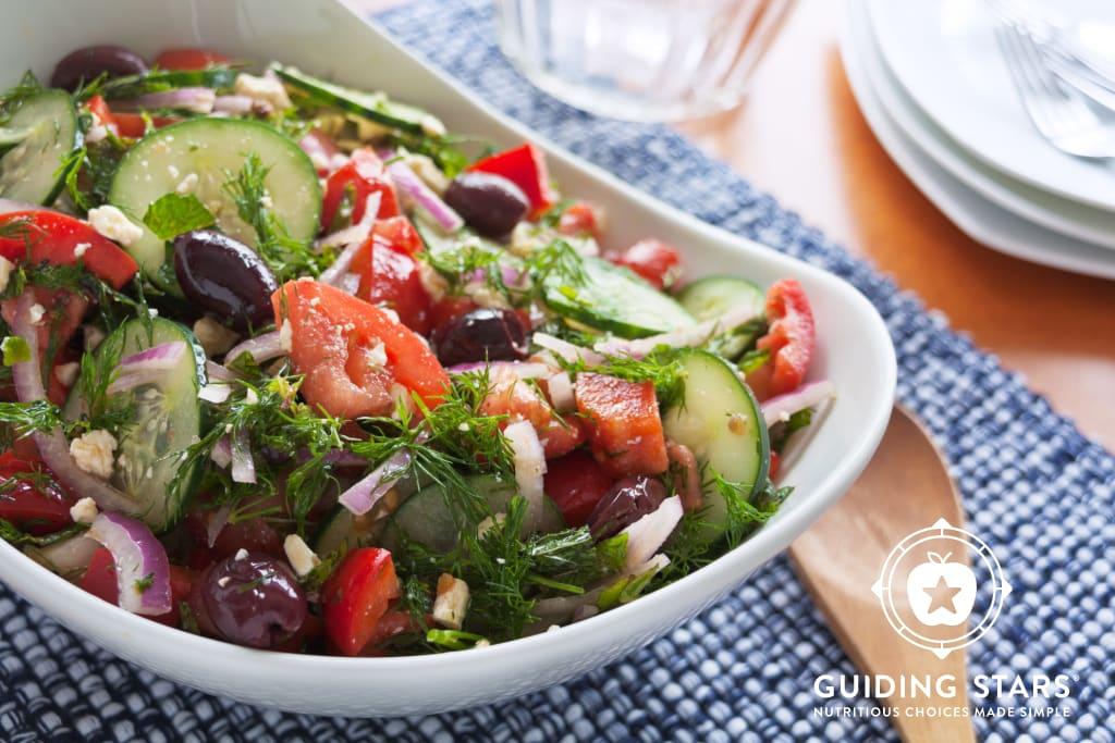 Dill & Feta Tomato Salad