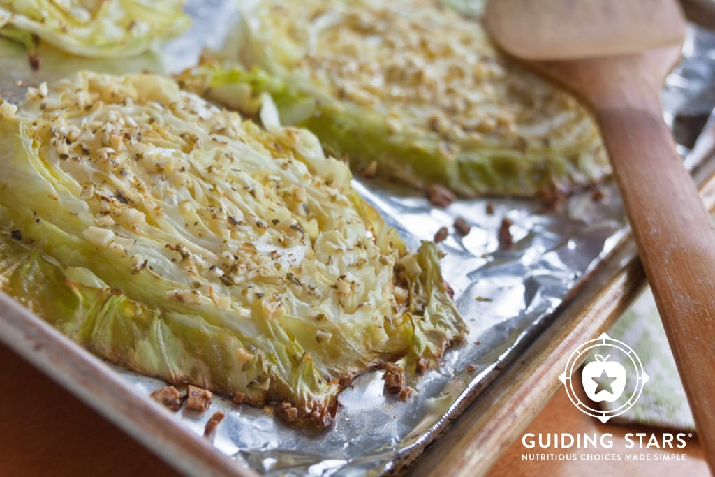 Garlic-Roasted Cabbage