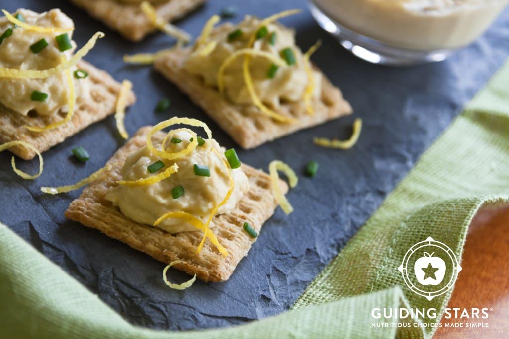 Lemon Artichoke Hummus