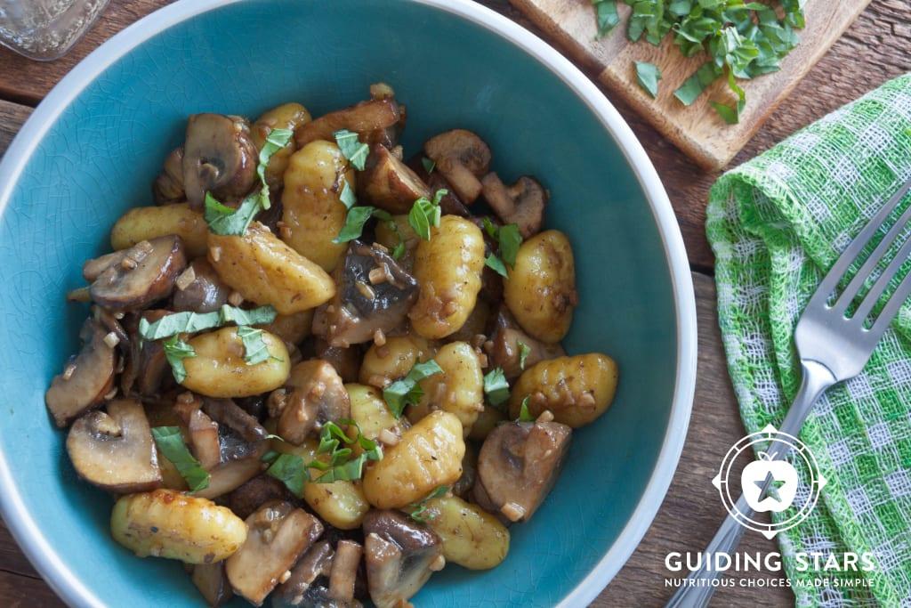 Gnocchi & Mushrooms