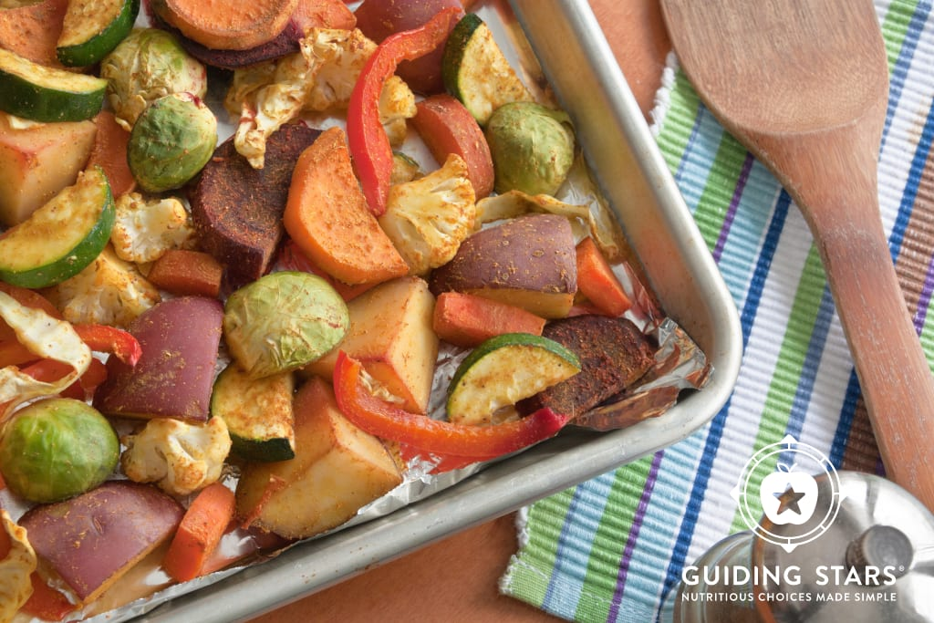 Oil-Free Curried Roasted Vegetables