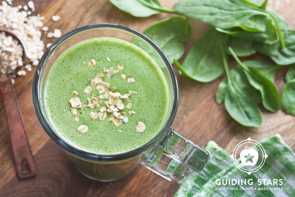 Melissa's Green Breakfast Smoothie.