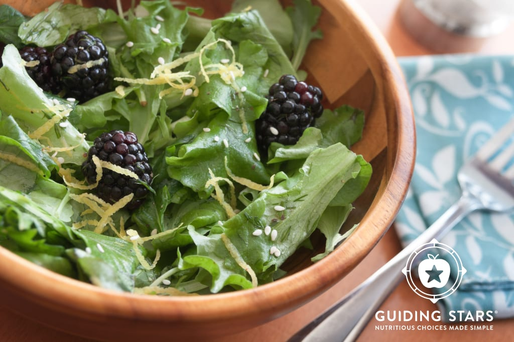 Blackberry Lemon Salad
