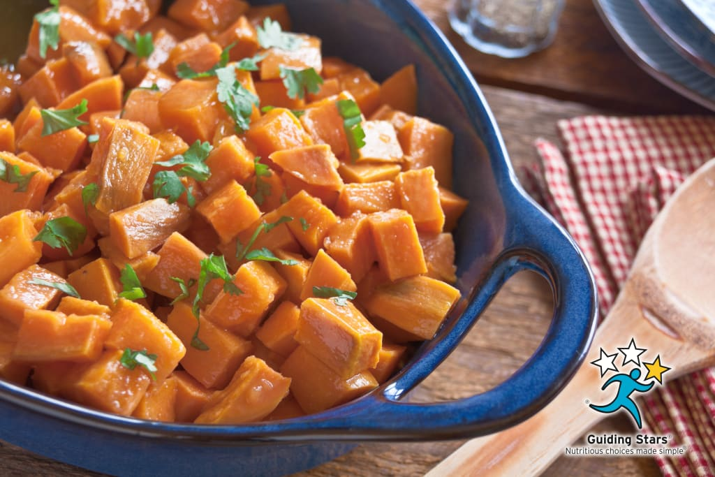 Apple Glazed Sweet Potatoes