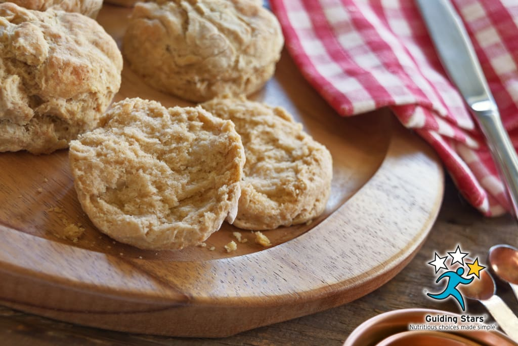 Whole Grain Buttermilk Biscuits