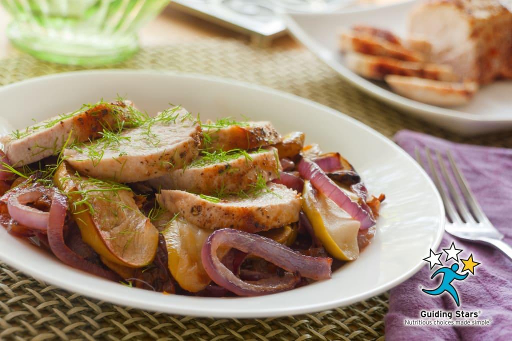 Apple & Fennel Roasted Pork Tenderloin
