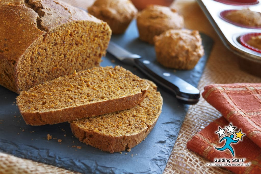 Pumped-up Pumpkin Bread