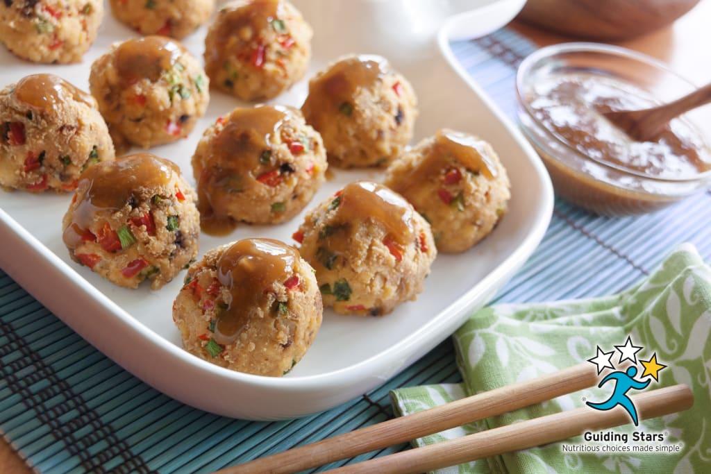 Sweet & Sour Veggie Dumplings